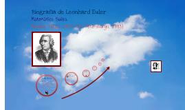Biografia de Leonhard Euler