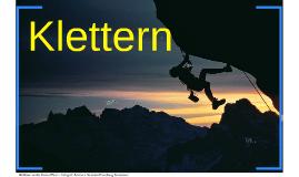Copy of Klettern