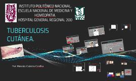 Tuberculosis cutanea