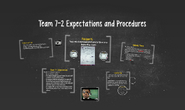 Copy of Team 7-2 Expectations and Procedures