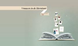 Vrouwen in de literatuur
