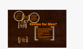 Copy of Revelon for Men