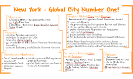 AB: New York - Global City Number One?
