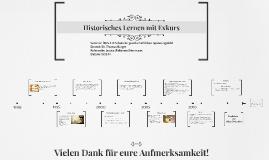 Historisches Lernen mit Exkurs