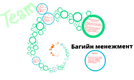 Copy of Багийн менежмент