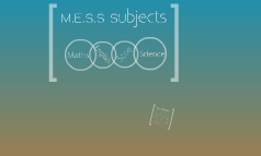 M.E.S.S Subjects