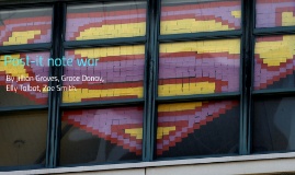 Post-it note war
