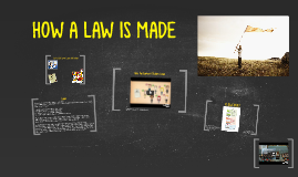 HOW A LAW IS MADE