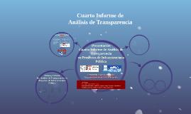 Cuarto Informe de Aseguramiento CoST