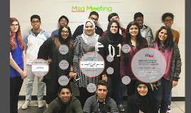 Msa Meeting