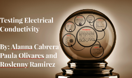 Testing Electrical Conducti