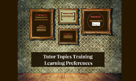 T3- Learning Preferences