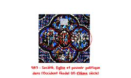 5H3 : Société, Eglise et pouvoir politique dans l'Occident médiéval (XI-XVème siècle)