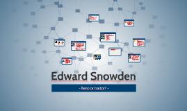Edward Snowdan