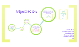 Copy of Especiacion