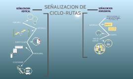 SEÑALIZACION DE CICLO-RUTAS