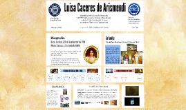 Luisa Caceres de Arismendi