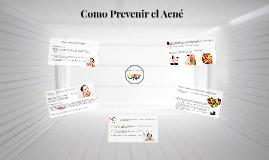 Como Prevenir el Acné