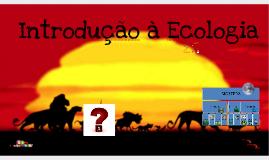 Introdução à Ecologia - Cursinho Ideal (Semi-extensivo)