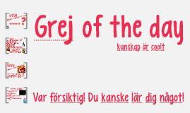 Grej of the day - Jultomten