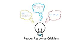 reader response thesis