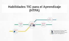 Habilidades TIC para el Aprendizaje (HTPA)
