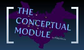 Thesis: Conceptual Module.