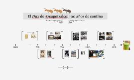 El Dux de Azcapotzalco: 100 años de cantina