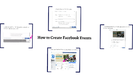 How to Create Facebook Events