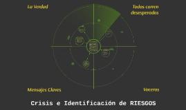 Crisis e Identificación de RIESGOS