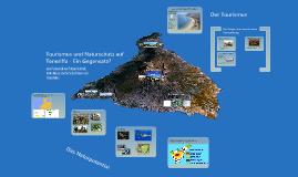 Tourismus und Naturschutz auf Teneriffa - ein Gegensatz?