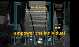 ReadySteady: App for Accelerometer-based Activity Monitoring and Wellness-Motivation Feedback System for Older Adults