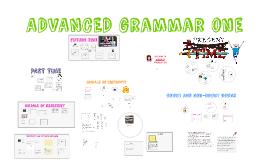 Copy of ADVANCED GRAMMAR ONE (Fourth Edition)