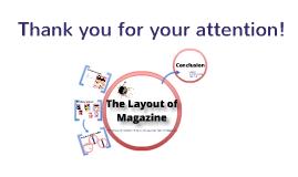 The Layout of Fashion Magazines