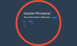 Copy of Gestion ministerial