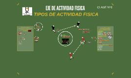 EJE DE ACTIVIDAD FISICA