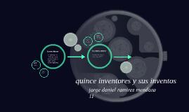 quince inventores y sus inventos