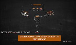 METODOLOGIA DE RESOLUCION DE PROBLEMAS