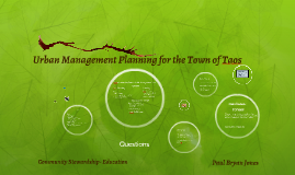 Copy of Urban Management Plan Taos
