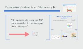 Copy of ENSEÑAR Y APRENDER CON TIC