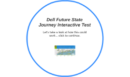 Dell Future State Journey Interactive Test