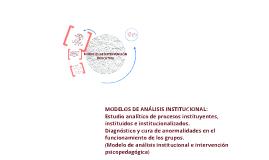 Copy of Clasificación de Modelos de Intervención Educativa