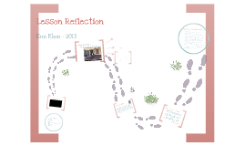 Klein: Lesson Reflection 2012-13
