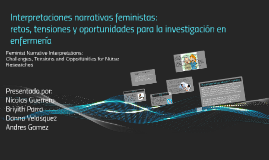 Copy of Interpretaciones narrativas feministas: