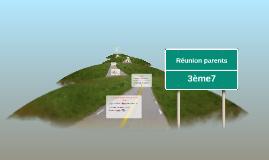 Réunion parents