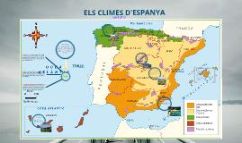 ELS CLIMES D'ESPANYA I BALEARS