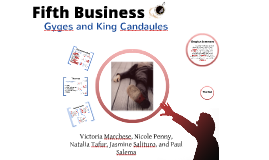 Copy of Fifth Business: Gyges and King Candaules