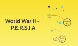 WWII - P.E.R.S.I.A