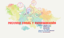 Copy of Prejuicio social y discriminación