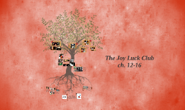 The Joy Luck Club ch. 12-16